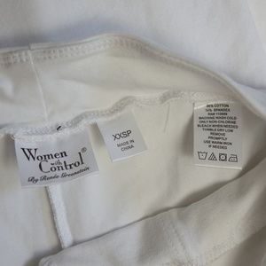 Women With Control Pants - Women with Control by Renee Greenstein Capri Pant